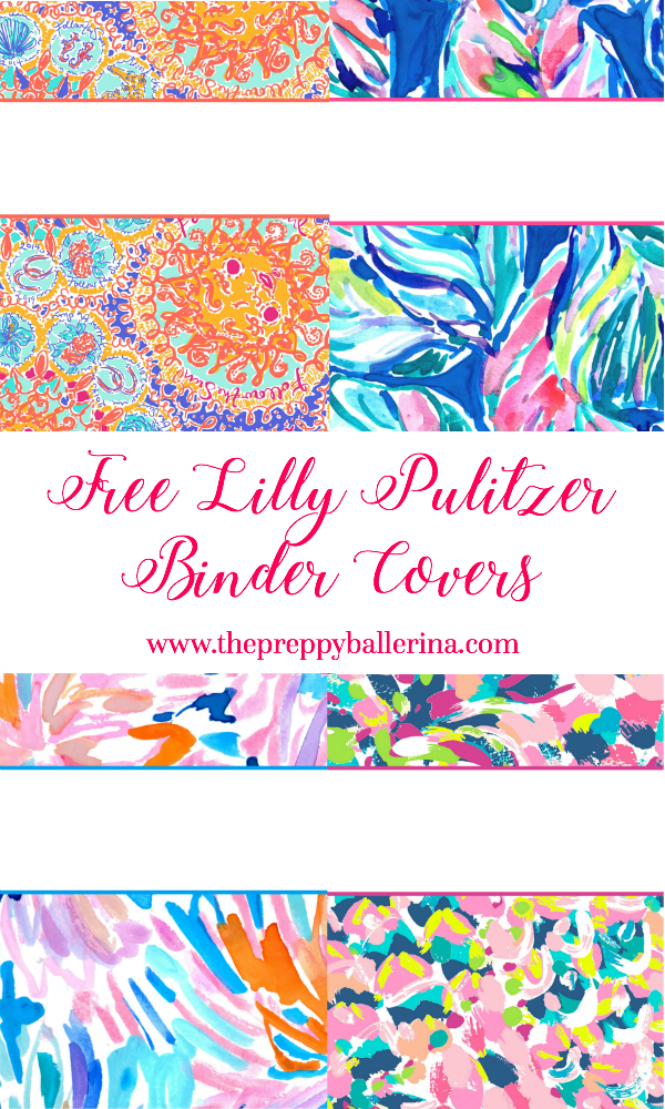 picture about Binder Covers Printable identified as Lilly Pulitzer Binder Handles 2017 Absolutely free, Lovely, Printable