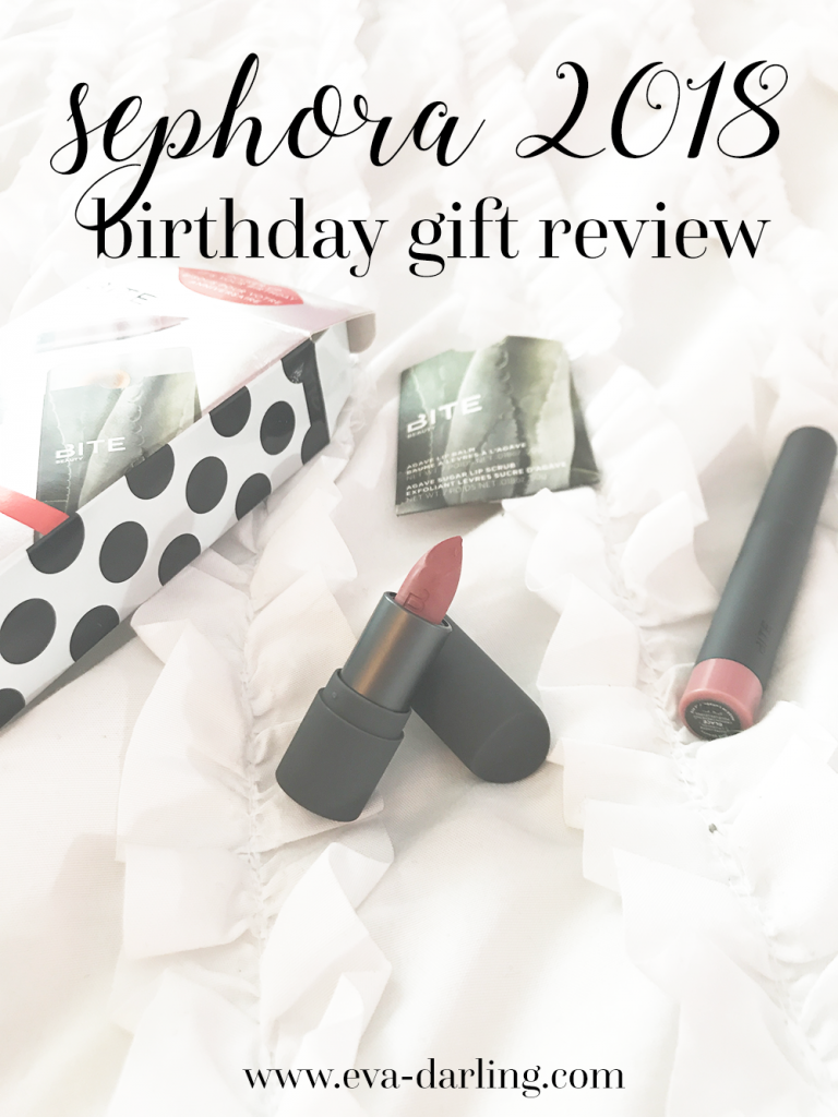 Sephora 2018 Bite Beauty Birthday Gift Review