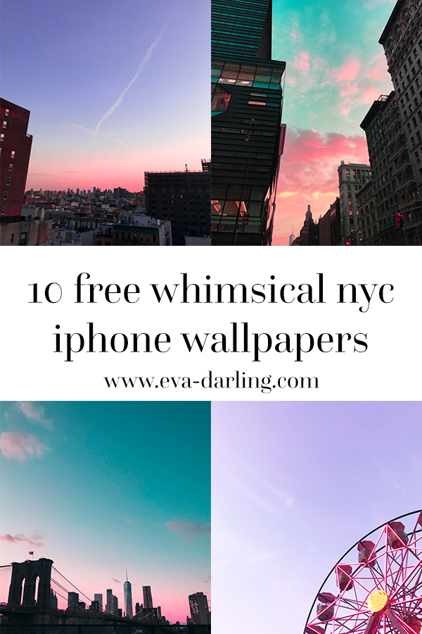 10 Free Whimsical NYC IPhone Wallpapers