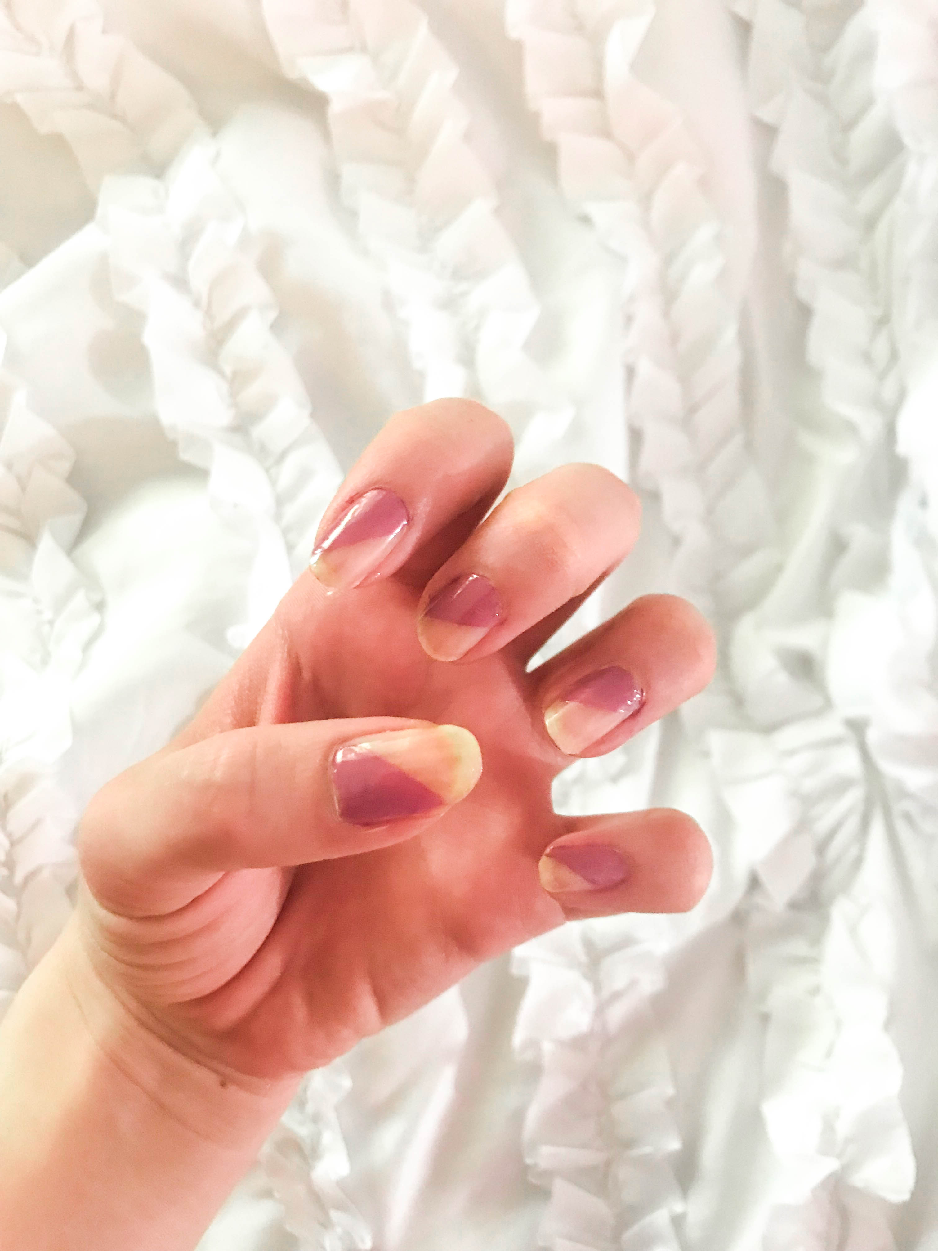minimalist french manicure christian louboutin nail polish sweet charity easy beauty tutorial quick nail art for beginners light sheer nail polish deborah lippmann opi nail hacks sweet charity bed of roses alpine snow
