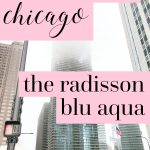 Darling Hotels of the USA: The Radisson Blu Aqua Chicago Review