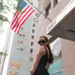 Recreating the Opening Scene of Breakfast at Tiffany's - A Modern Holly Golightly Look