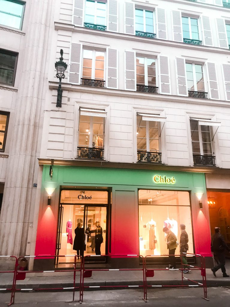 Chloé Paris Flagship Rue Saint-Honoré