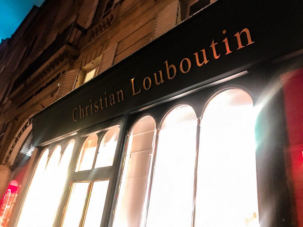 Christian Louboutin Flagship Store Paris Rue Jean-Jacques Rousseau