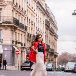 Styling a Midi Tulle Skirt in Paris