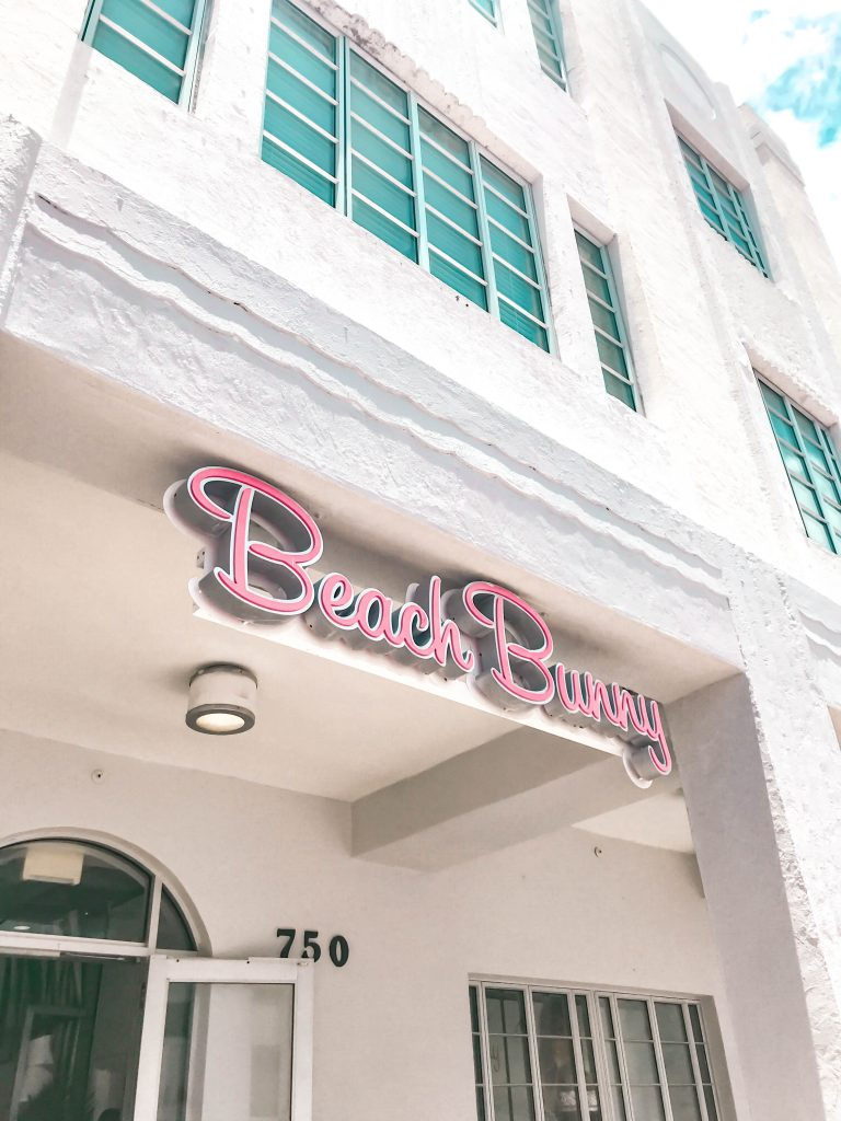 Beach Bunny Store Miami South Beach luxury swimwear shop collins ave