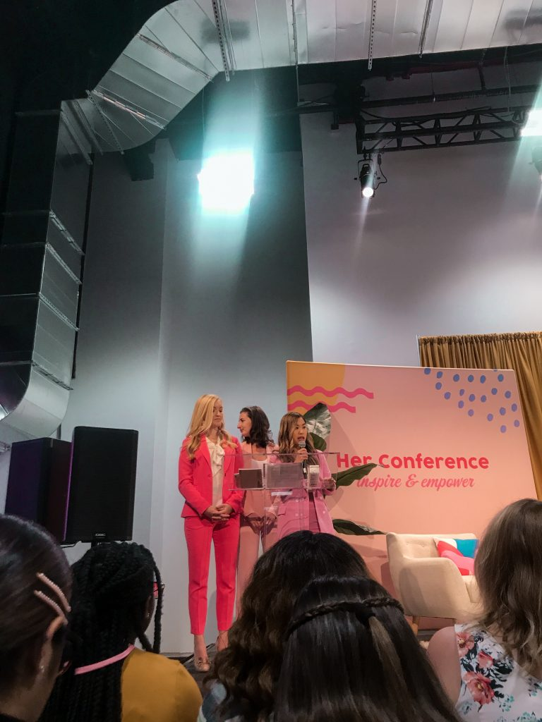 her campus founders annie wang windsor western stephanie kaplan lewis at her conference nyc bklyn studiosio