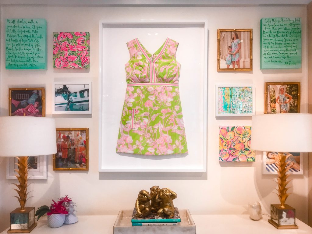 Lilly Pulitzer vintage shift dress Worth Avenue flagship store Palm Beach Island Florida it all started with a juice stand story