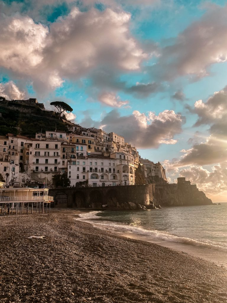 Amalfi Beach province of salerno italy