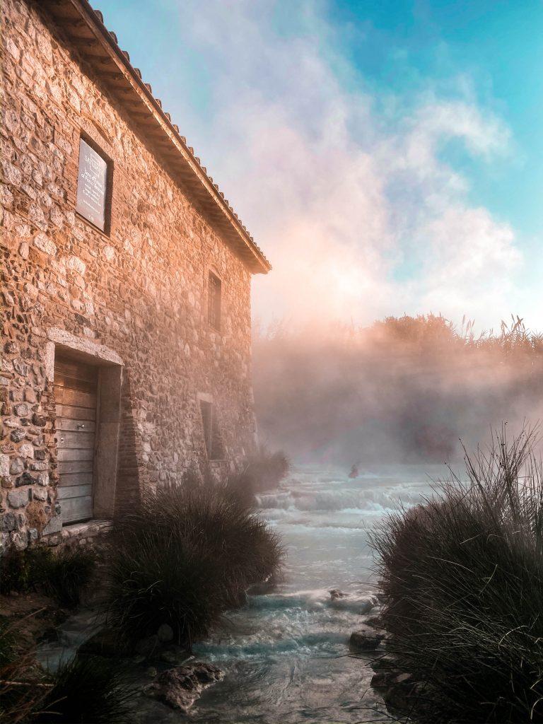 cascate del mulino maremma marciano saturnia tuscany