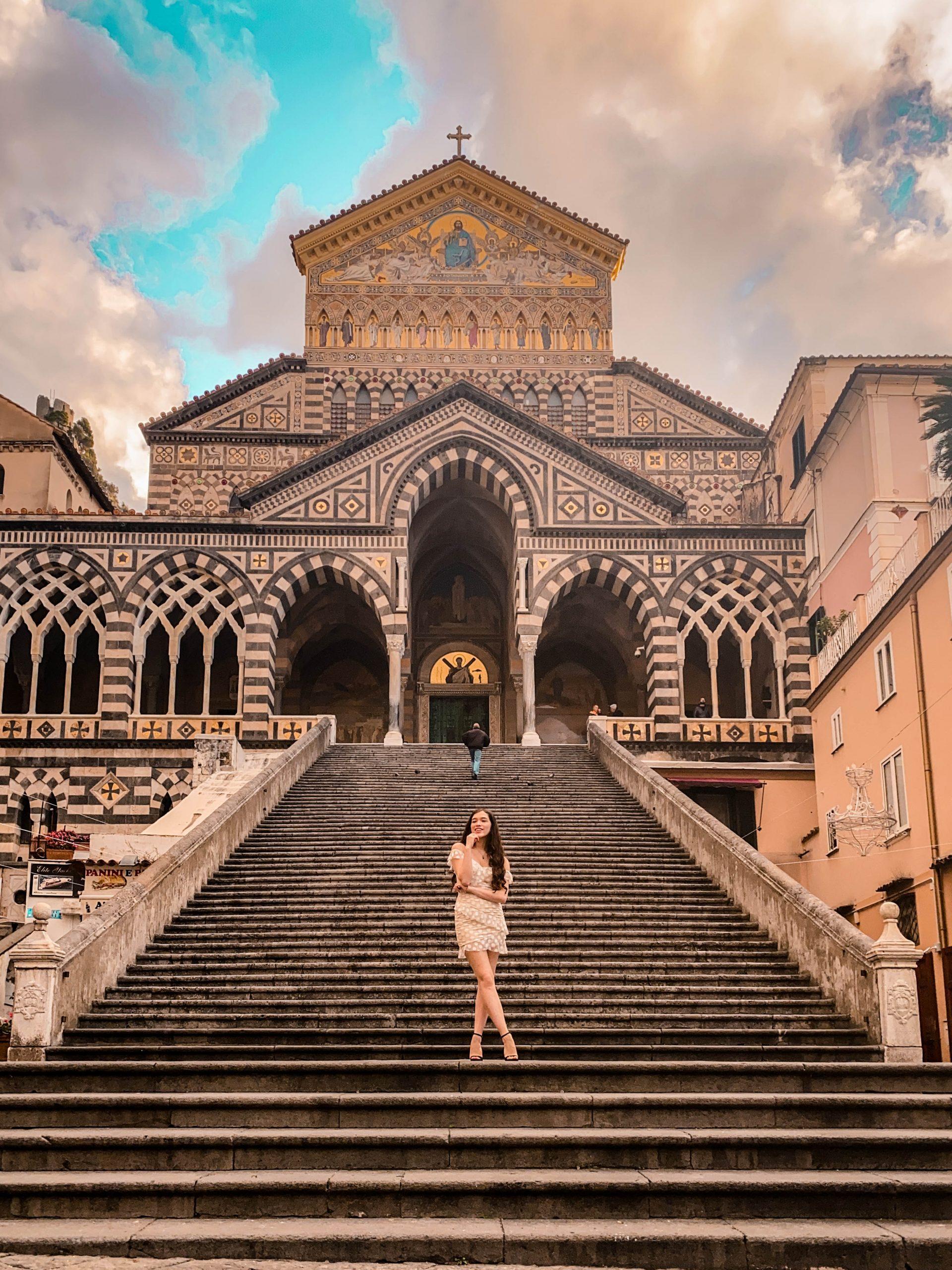 duomo di sant'andrea Piazza del Duomo cattedrale di sant'andrea amalfi coast italy province of salerno solo female travel