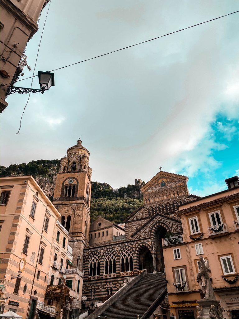 cattedrale di sant'andrea piazza del duomo amalfi coast province of salerno italy