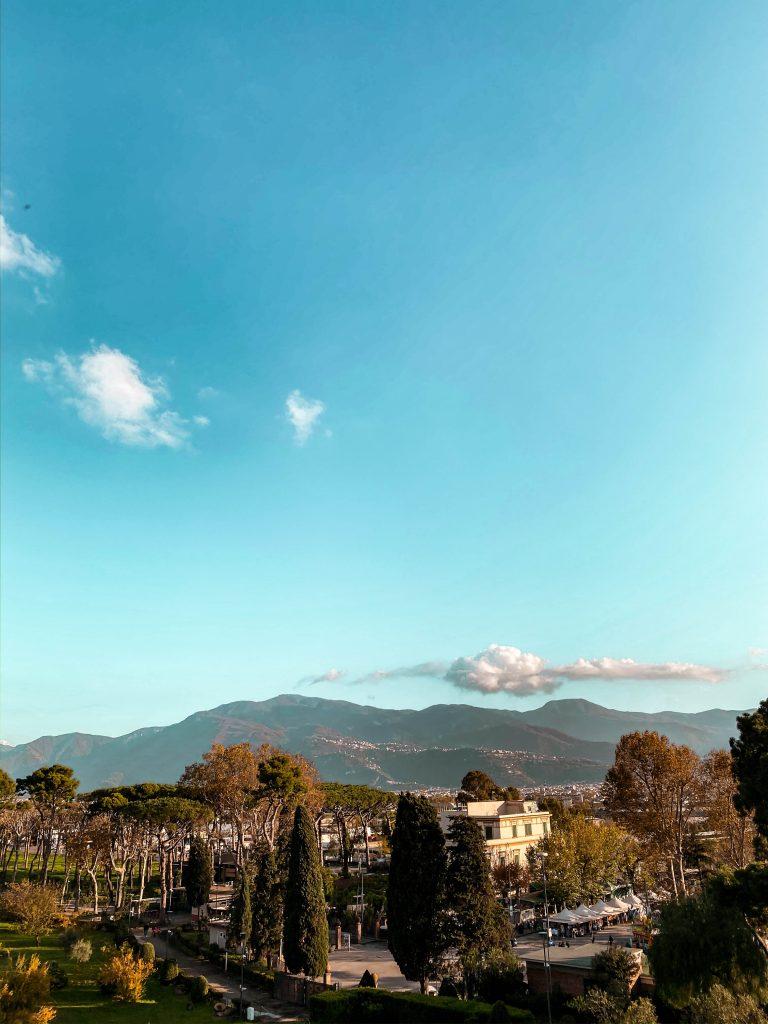 mount vesuvius pompeii naples italy