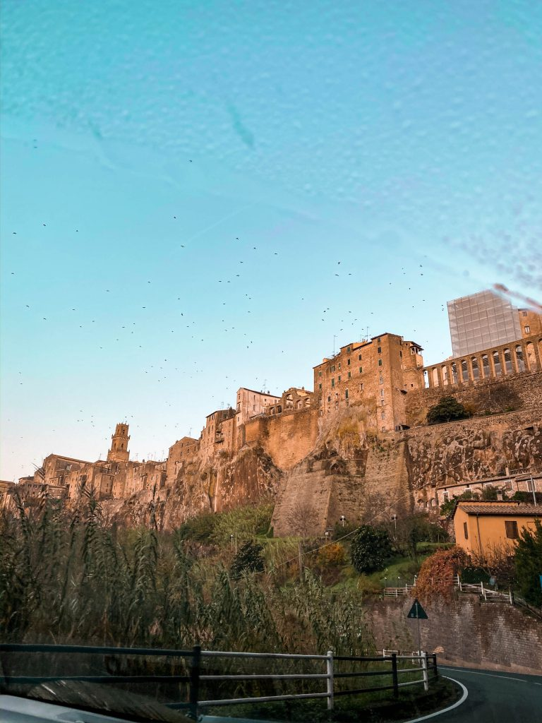 pitigliano medieval town italy province of grosseto saturnia