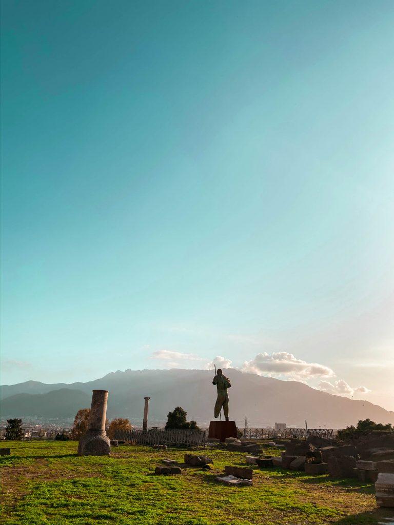basilica scavi pompeii ruins ancient church italy unesco mount vesuvius neoclassicism architecture