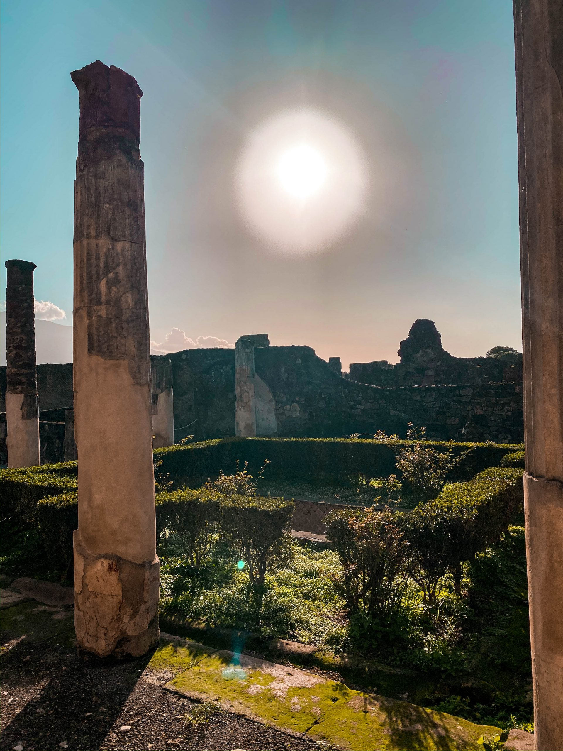 pompeii ruins ancient city italy neoclassicism neoclassical roman architecture UNESCO world heritage site how to visit pompeii from the amalfi coast