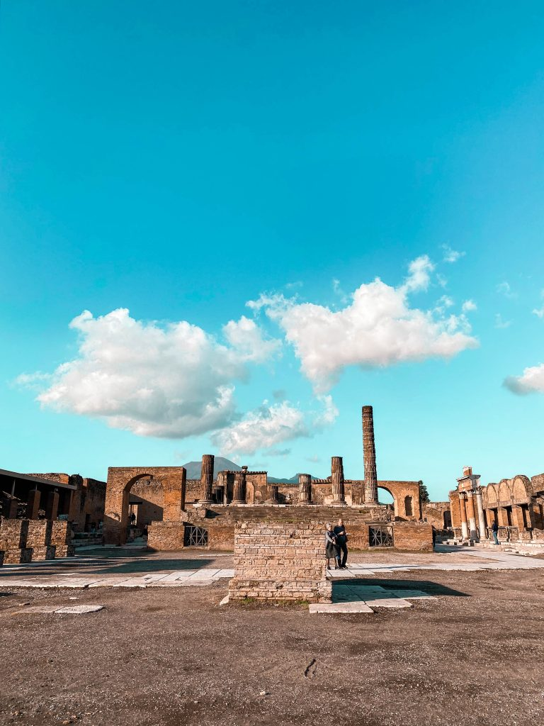 foro civile civil forum pompeii italy history architecture ancient city