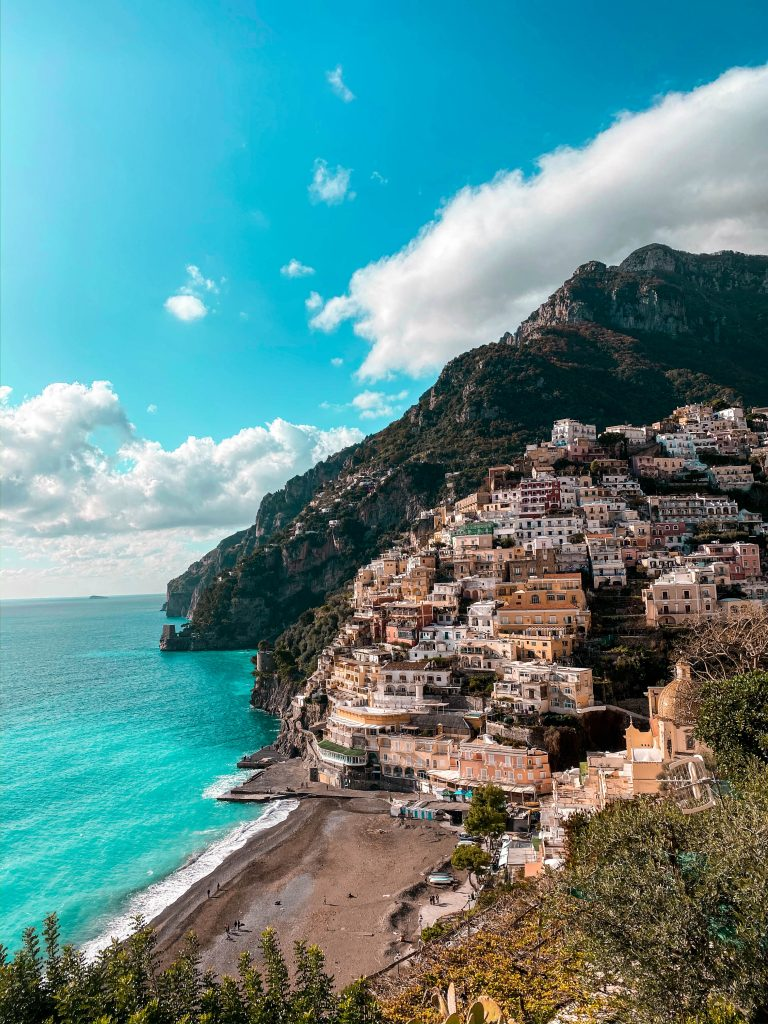 positano italy beach winter off season tyrrhenian sea wanderlust