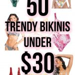 50 Flattering Trendy Bikini Swimsuits Under $30