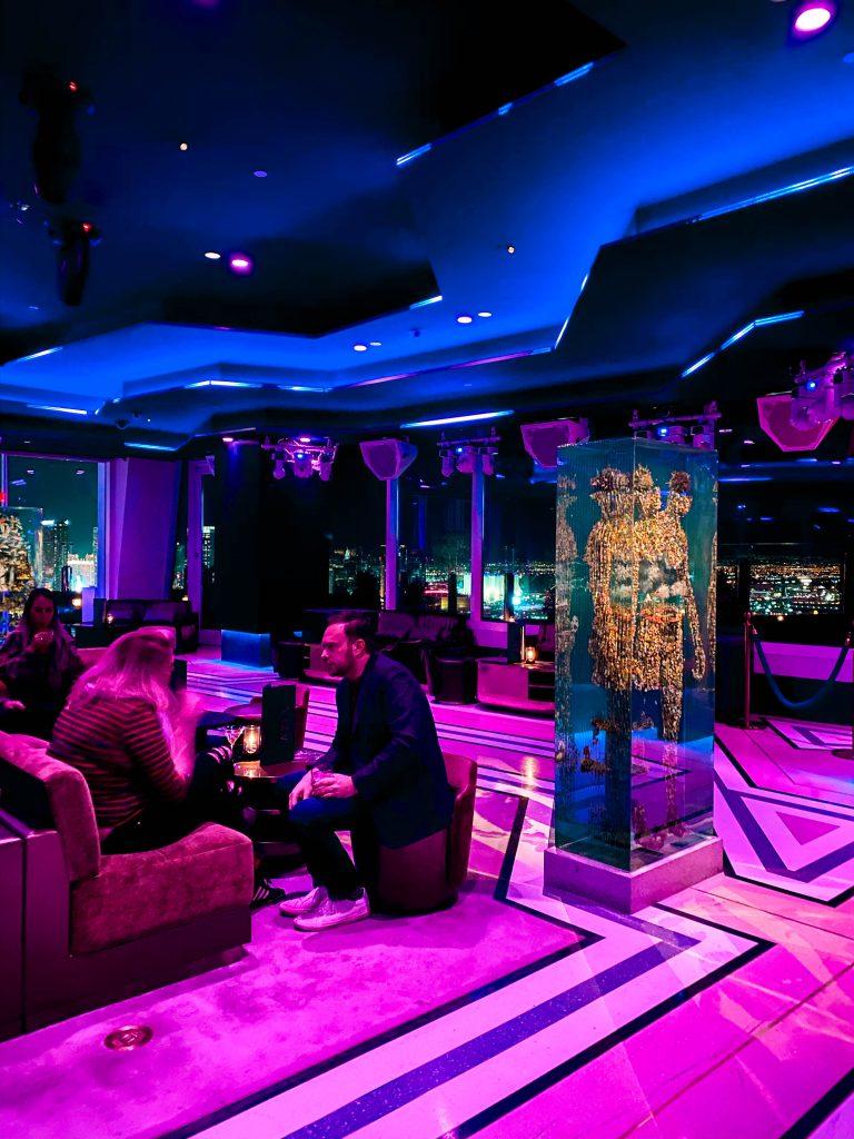 dustin yellin apex rooftop social club lounge cocktail bar the palms casino resort las vegas nevada