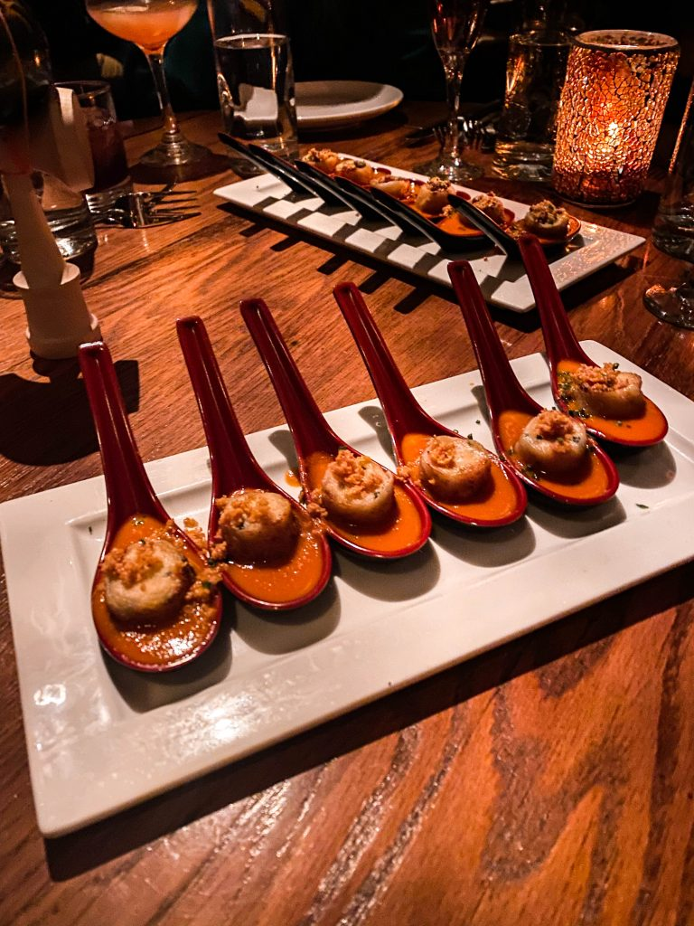 grilled cheese dumplings beauty and essex cosmopolitan hotel casino las vegas