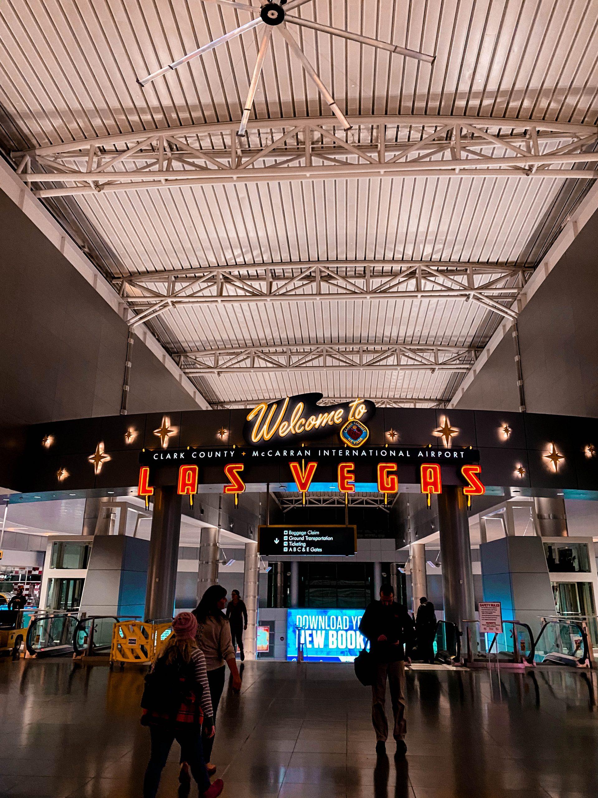 LAS McCarran International Airport Las Vegas Nevada welcome to las vegas