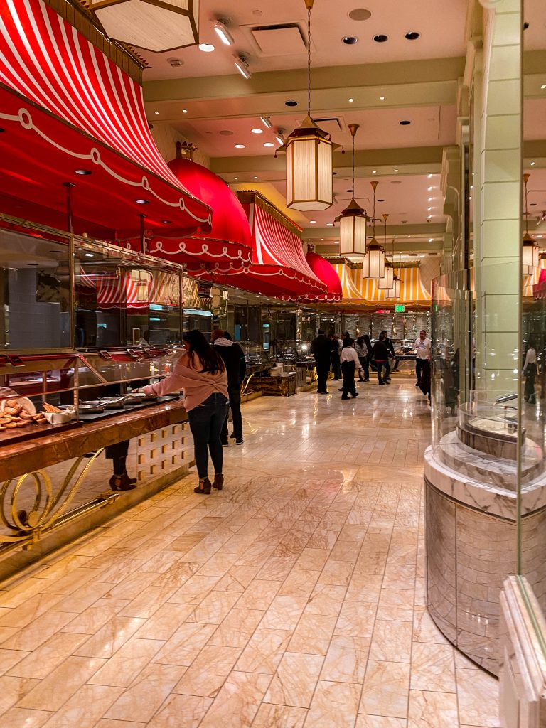 the wynn hotel and casino all you can eat buffet, las vegas nevada ayce