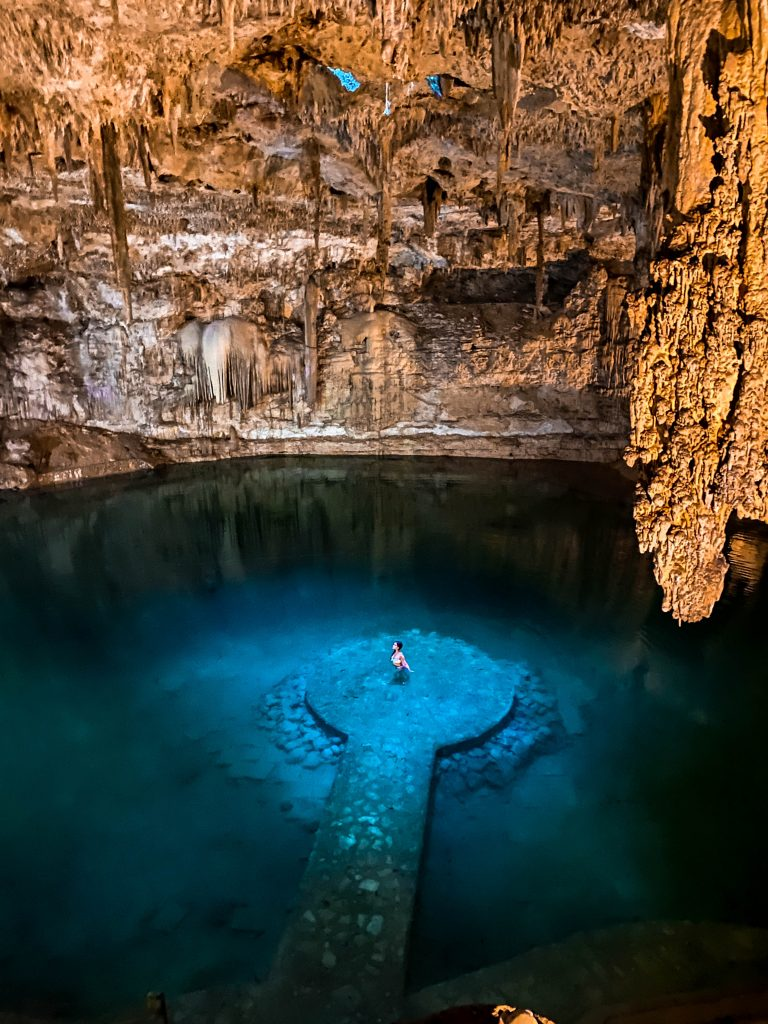 Cenote suytun valladolid natural underground cave swimming freshwater where to go valladolid tulum yucatan peninsula mexico what to do