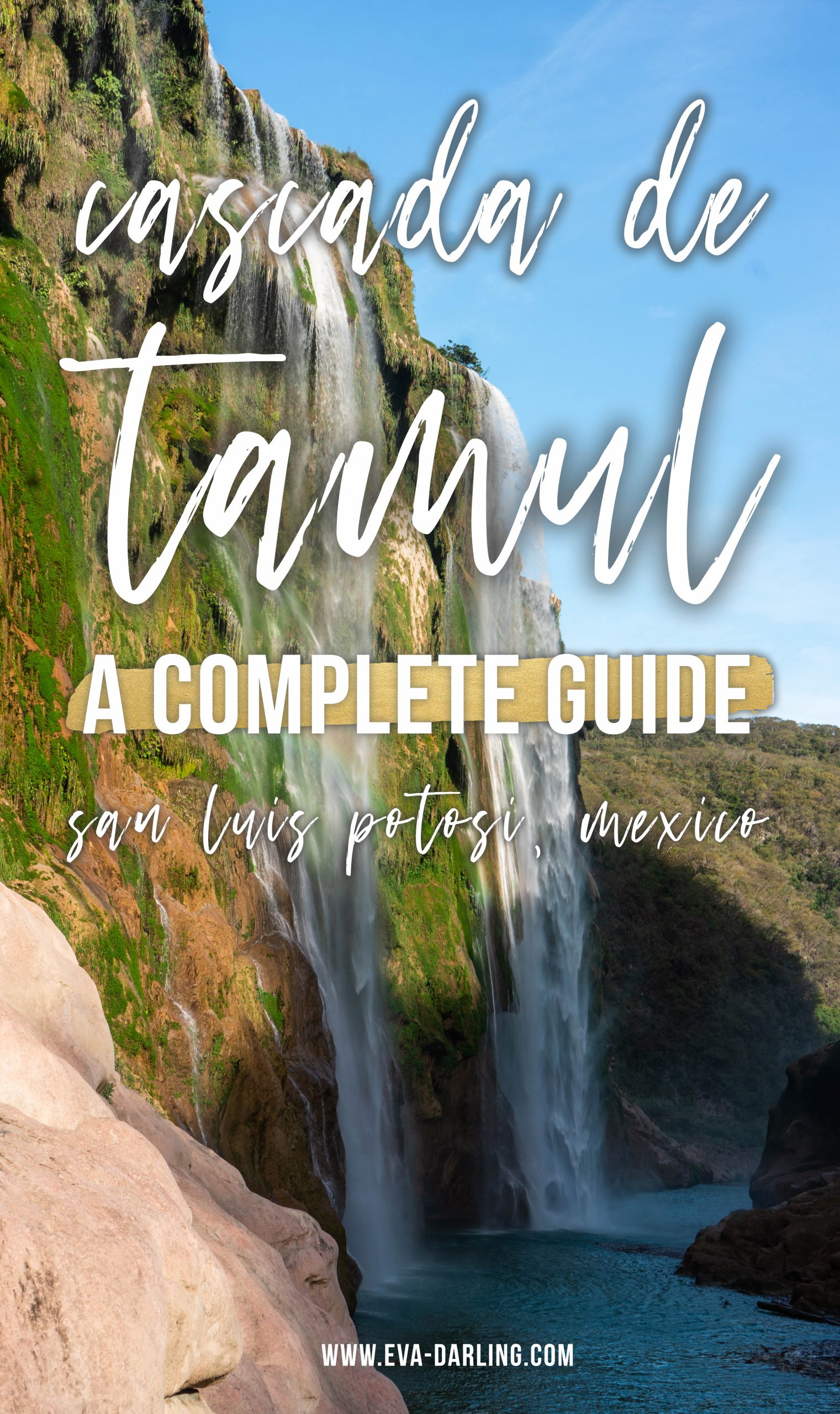 cascada de tamul waterfall travel guide la huasteca potosina san luis potosi mexico rainforest canyon how to visit hiking