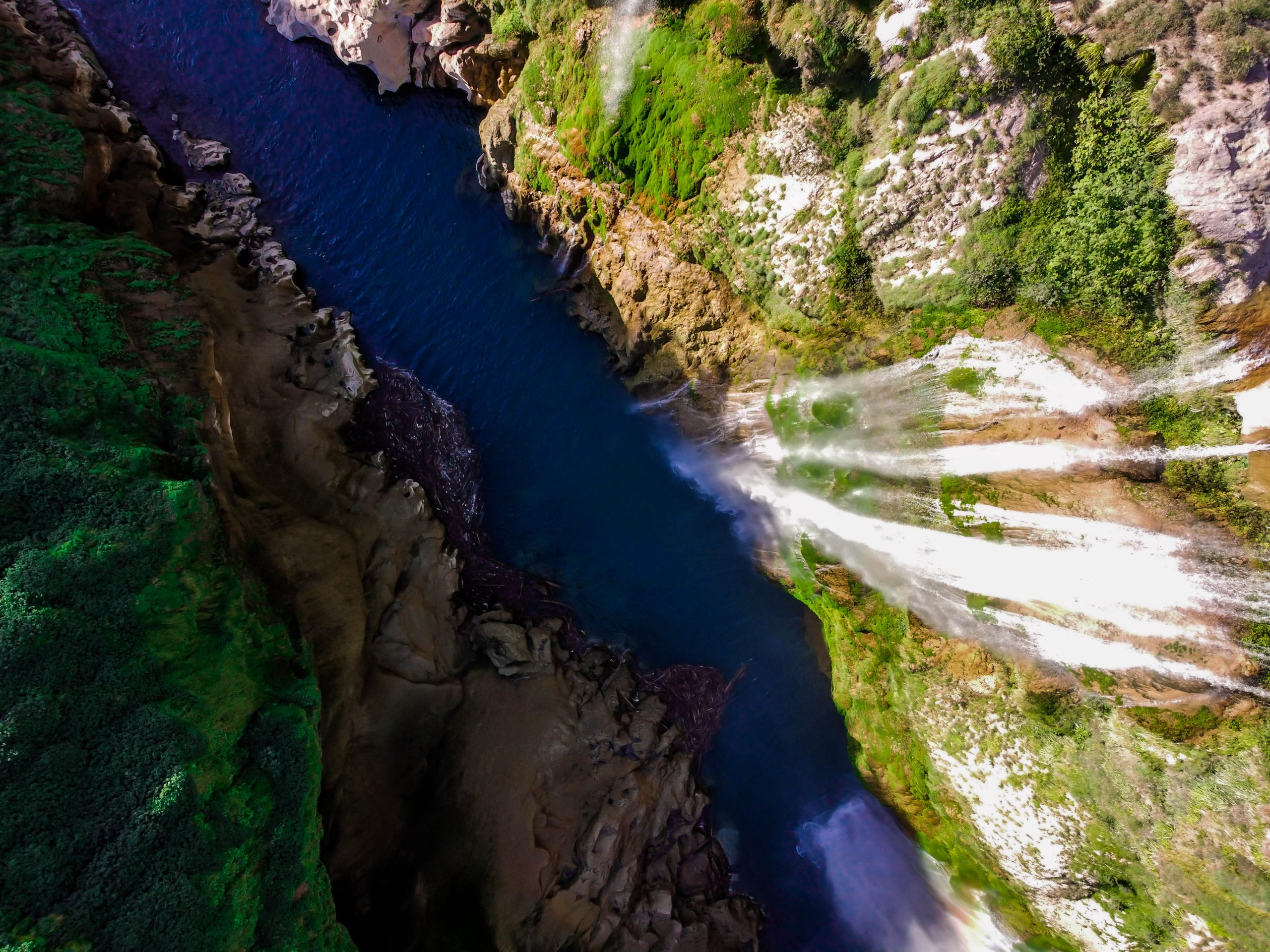 cascada de tamul la huasteca potosina san luis potosi mexico drone tampaon river dji mavic mini