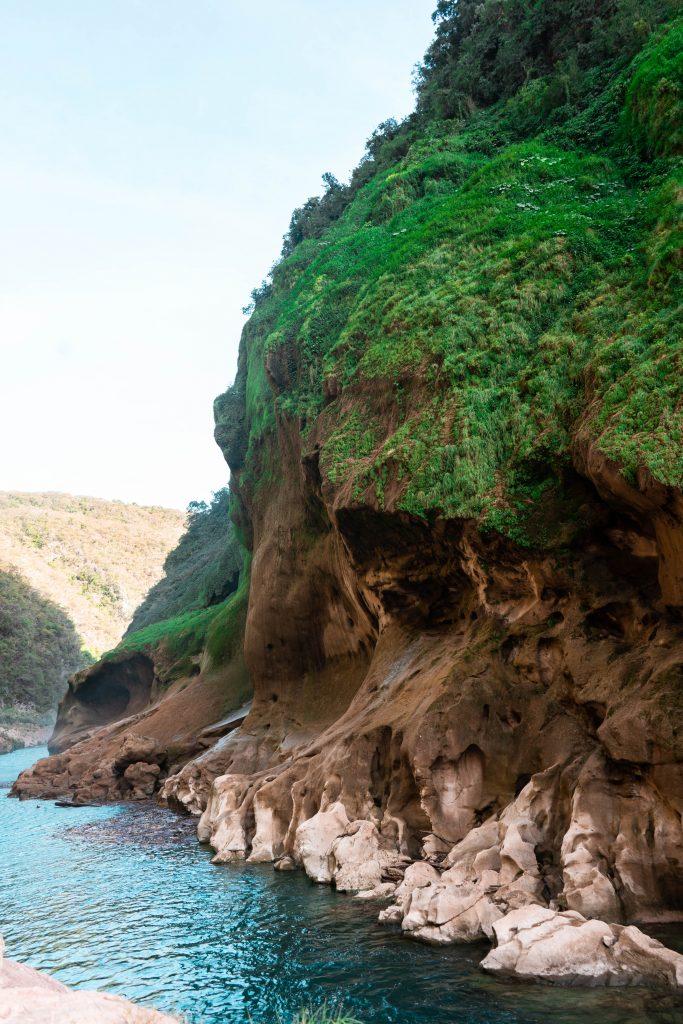 tampaon river canyon el naranjito la huasteca potosina san luis potosi mexico rainforest