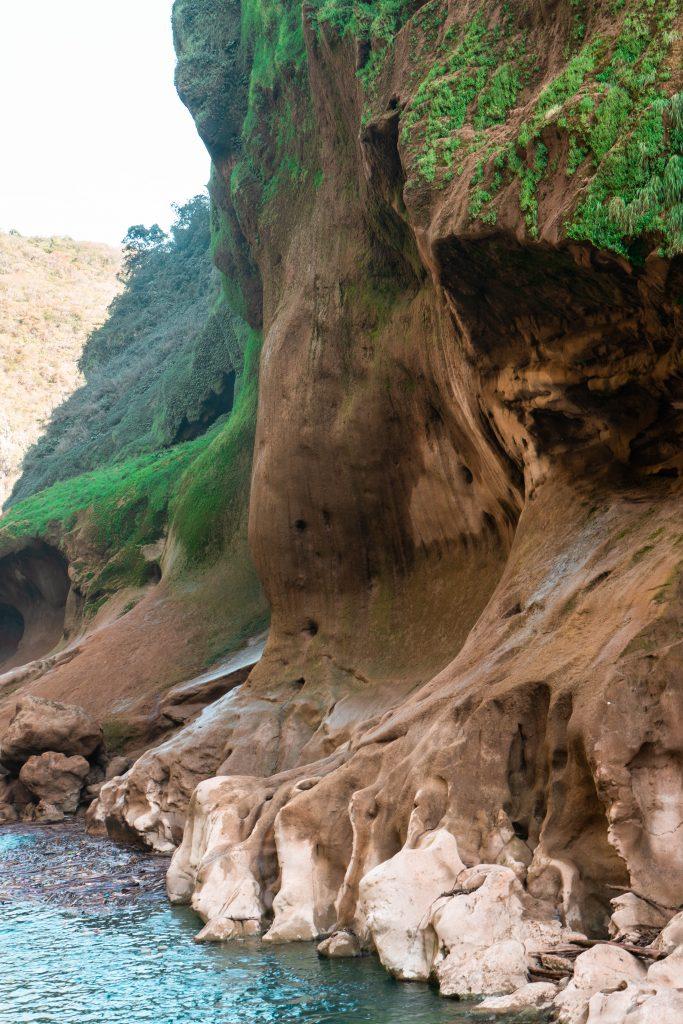 tampaon river canyon el naranjito la huasteca potosina san luis potosi mexico