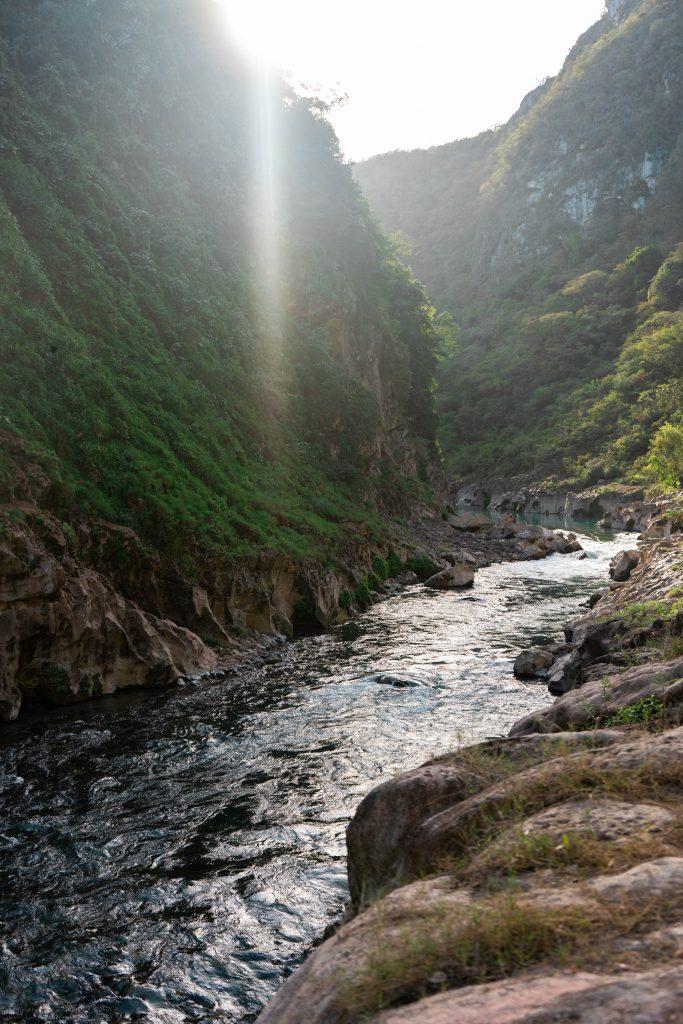 tampaon river la huasteca potosina san luis potosi mexico canyon