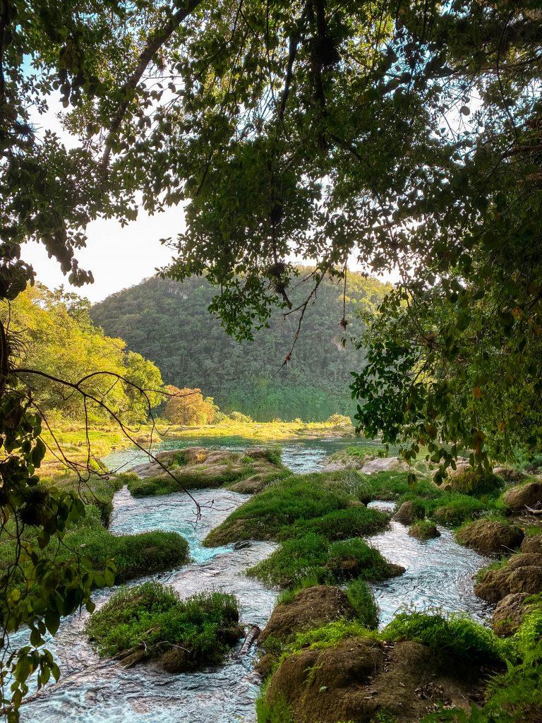 cascada de tamul top waters el naranjito hike gallinas river la huasteca potosina san luis potosi Mexico