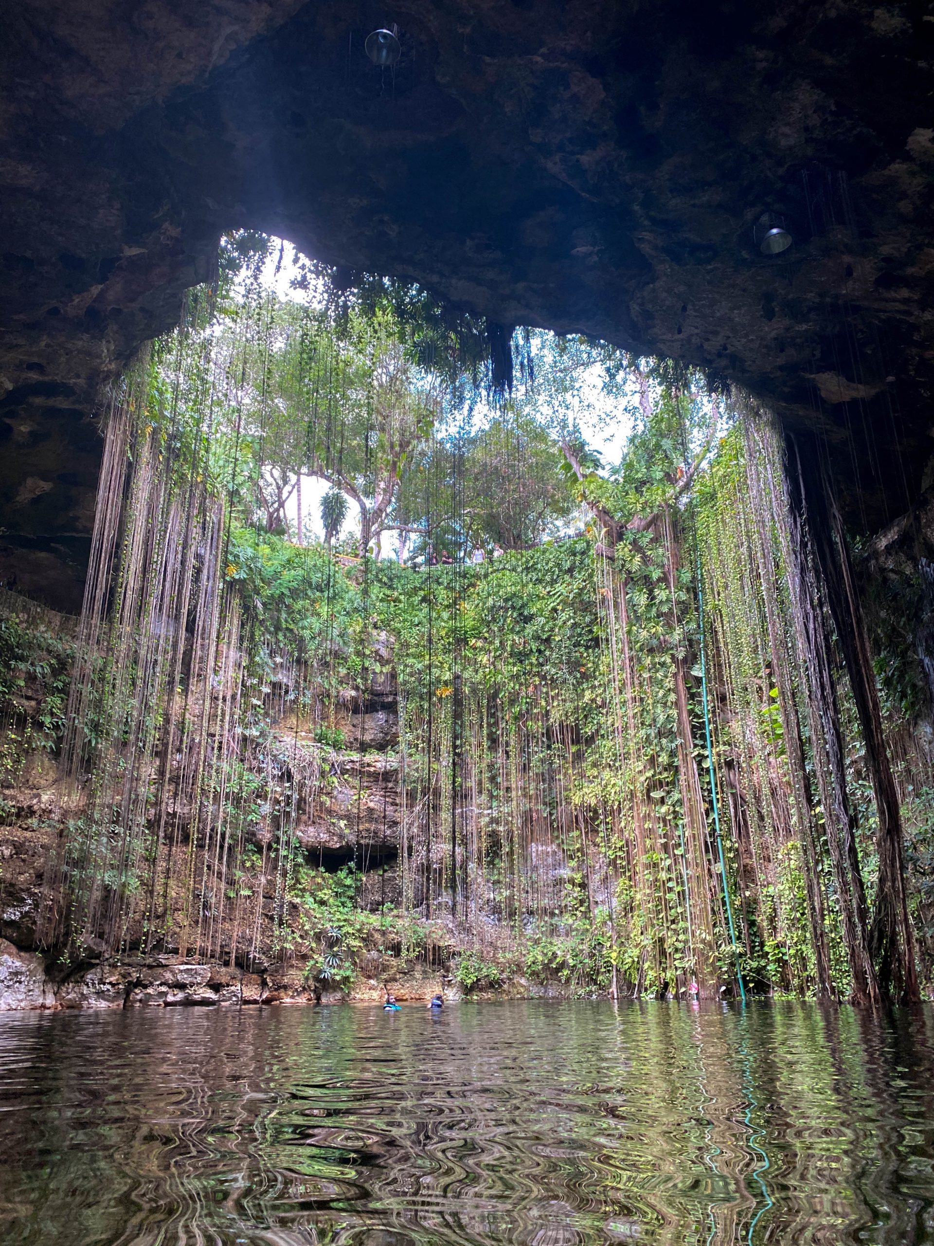 cenote ik kil yucatan mexico sinkhole chichen itza sinkhole instagrammable cenote swimming photo worthy