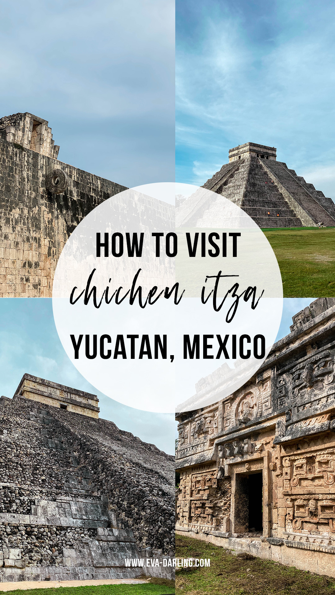 how to visit chichen itza mayan ruins yucatan mexico el castillo temple of kukulkan la iglesia nunery monastery great ball court mayan soccer game osario temple temple of the high priest mayan relief carving