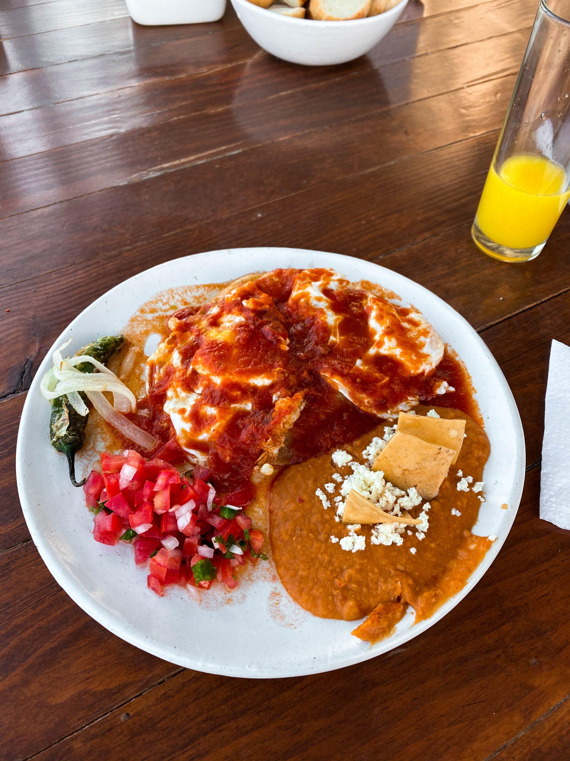 huevos rancheros mexican breakfast