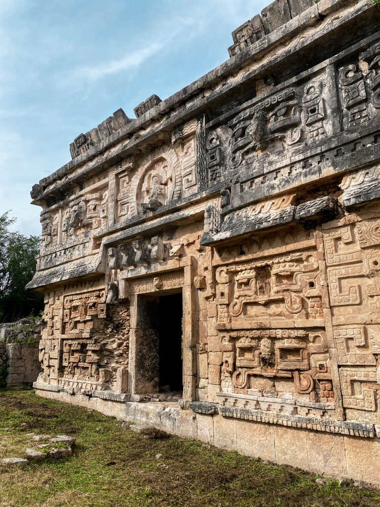 la iglesia monastery nunery chichen itza mayan religion relief carvings art