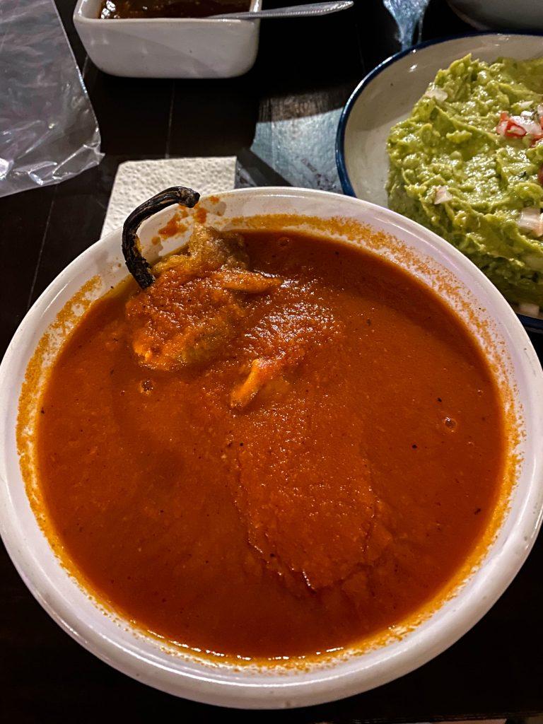la taberna del cofrade chile relleno cave restaurant tequila jalisco mexico