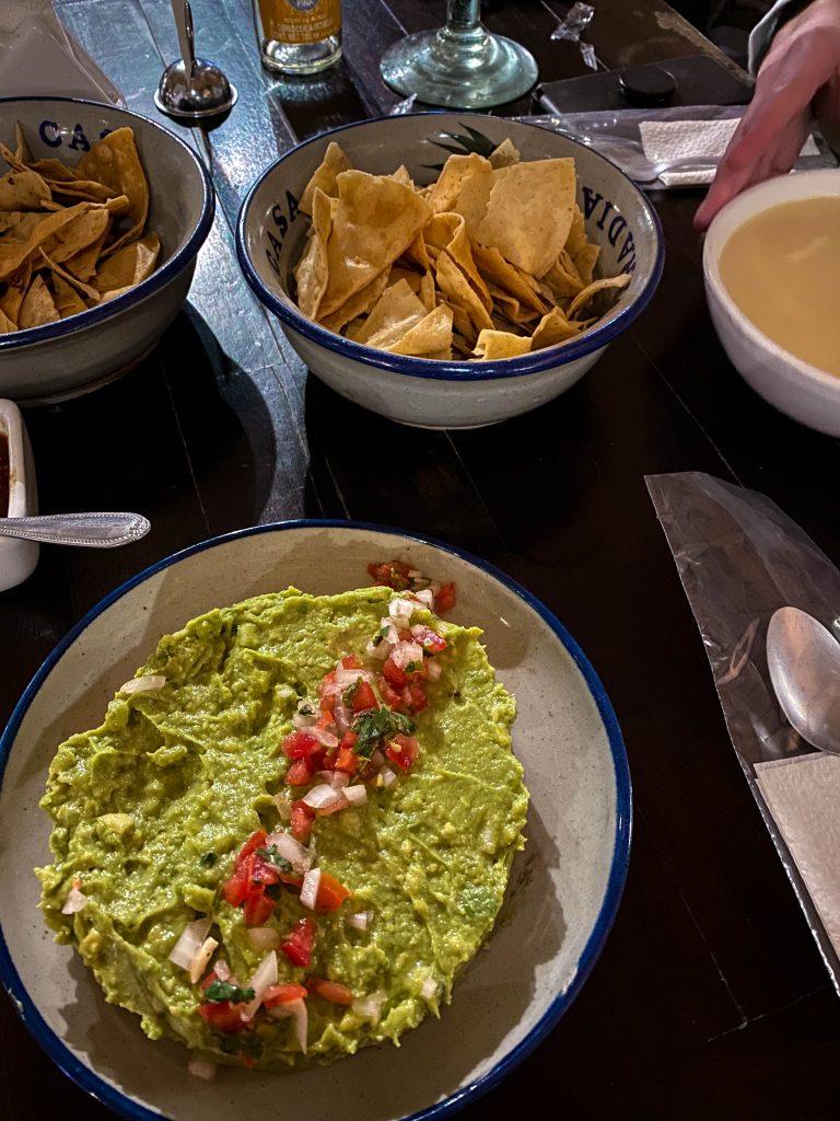 la taberna del cofrade guacamole crema de elote cave restaurant tequila jalisco mexico