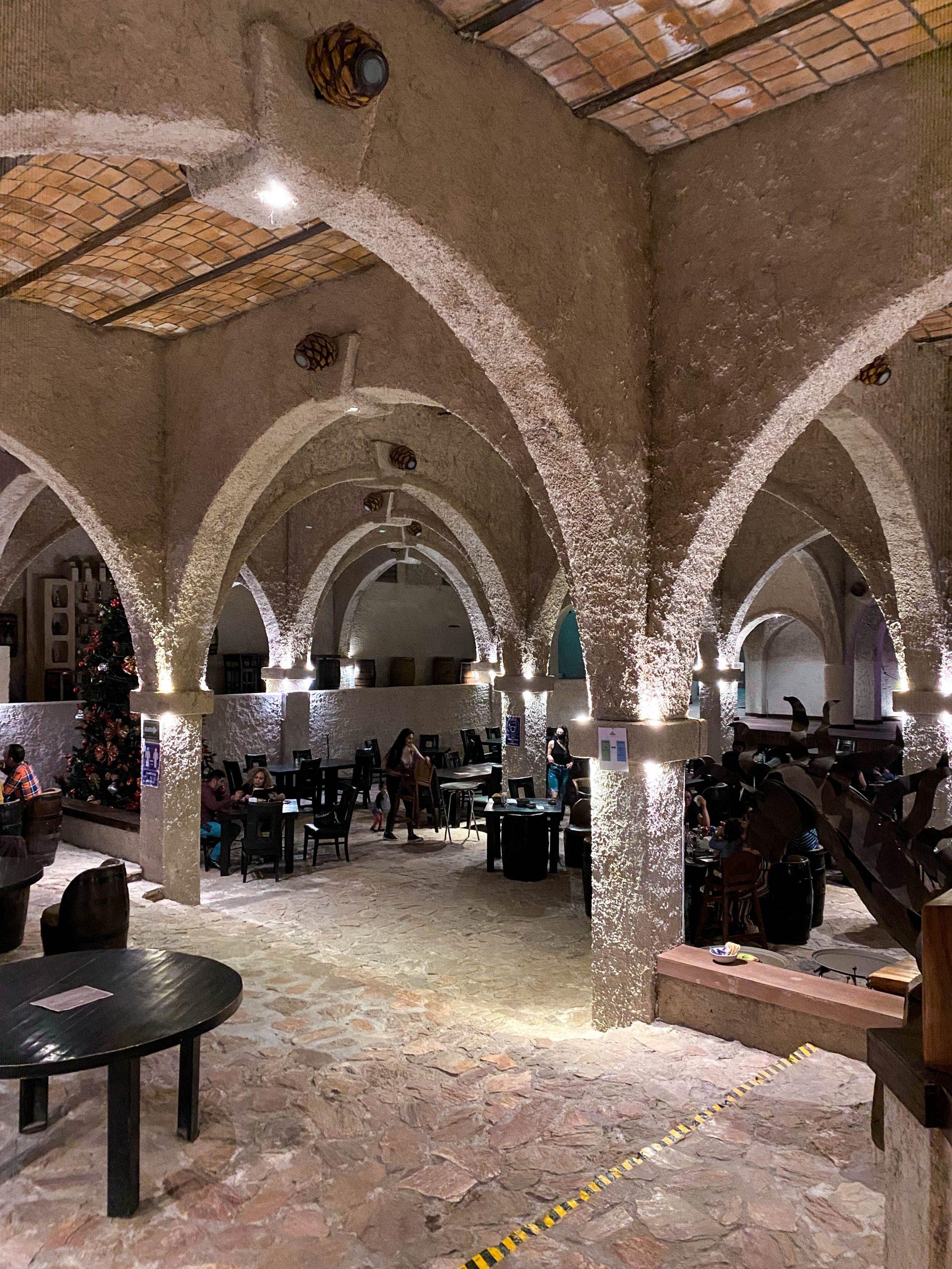 la taberna del cofrade cave restaurant tequila jalisco mexico