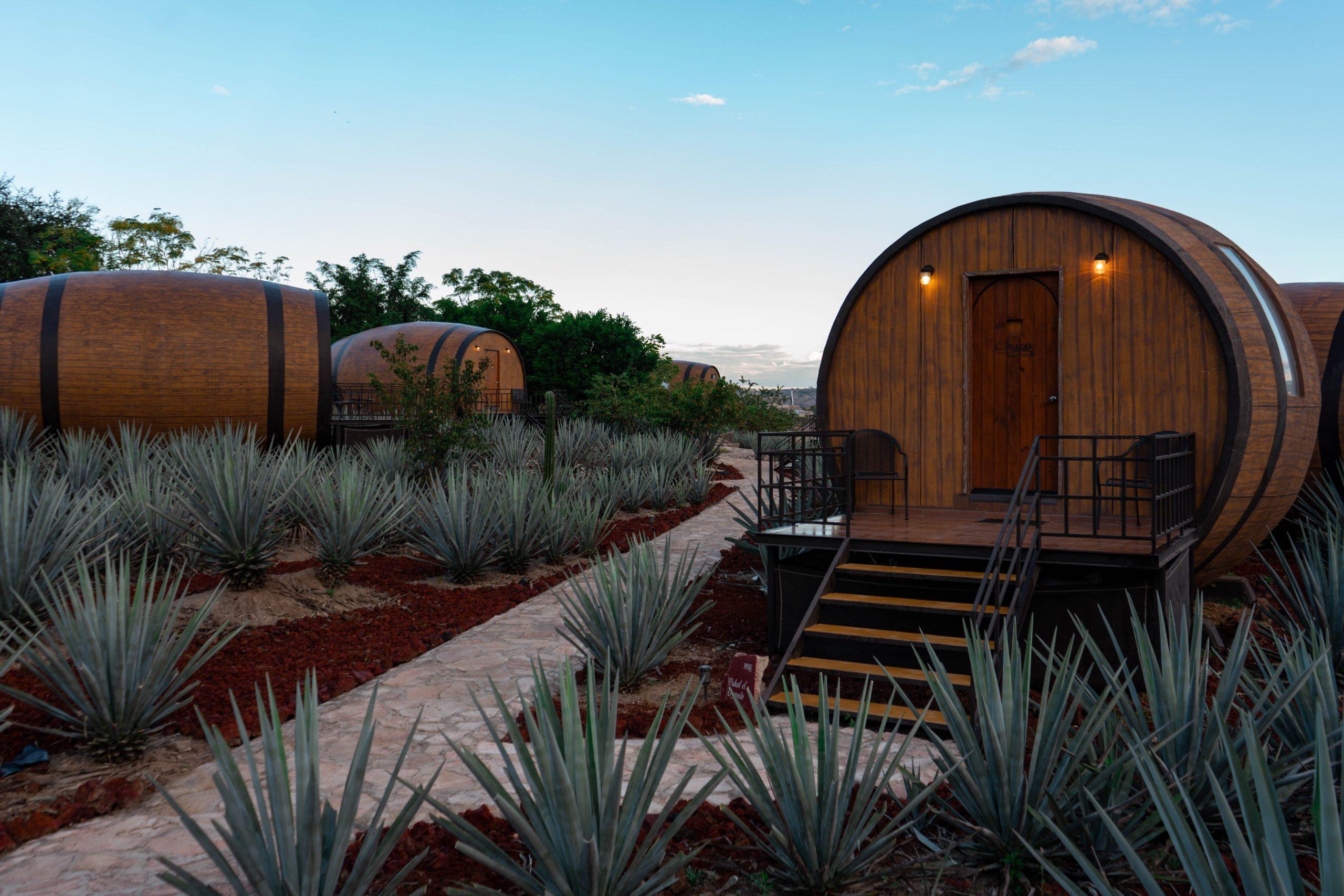 matices hotel de barricas tequila hotel barrel rooms jalisco mexico