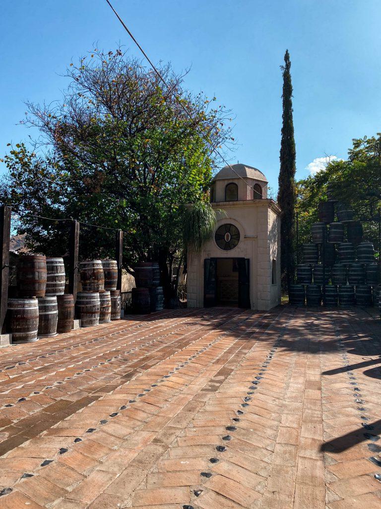 tequilera hacienda la cofradia tequila distillery jalisco mexico factory matices hotel de barricas
