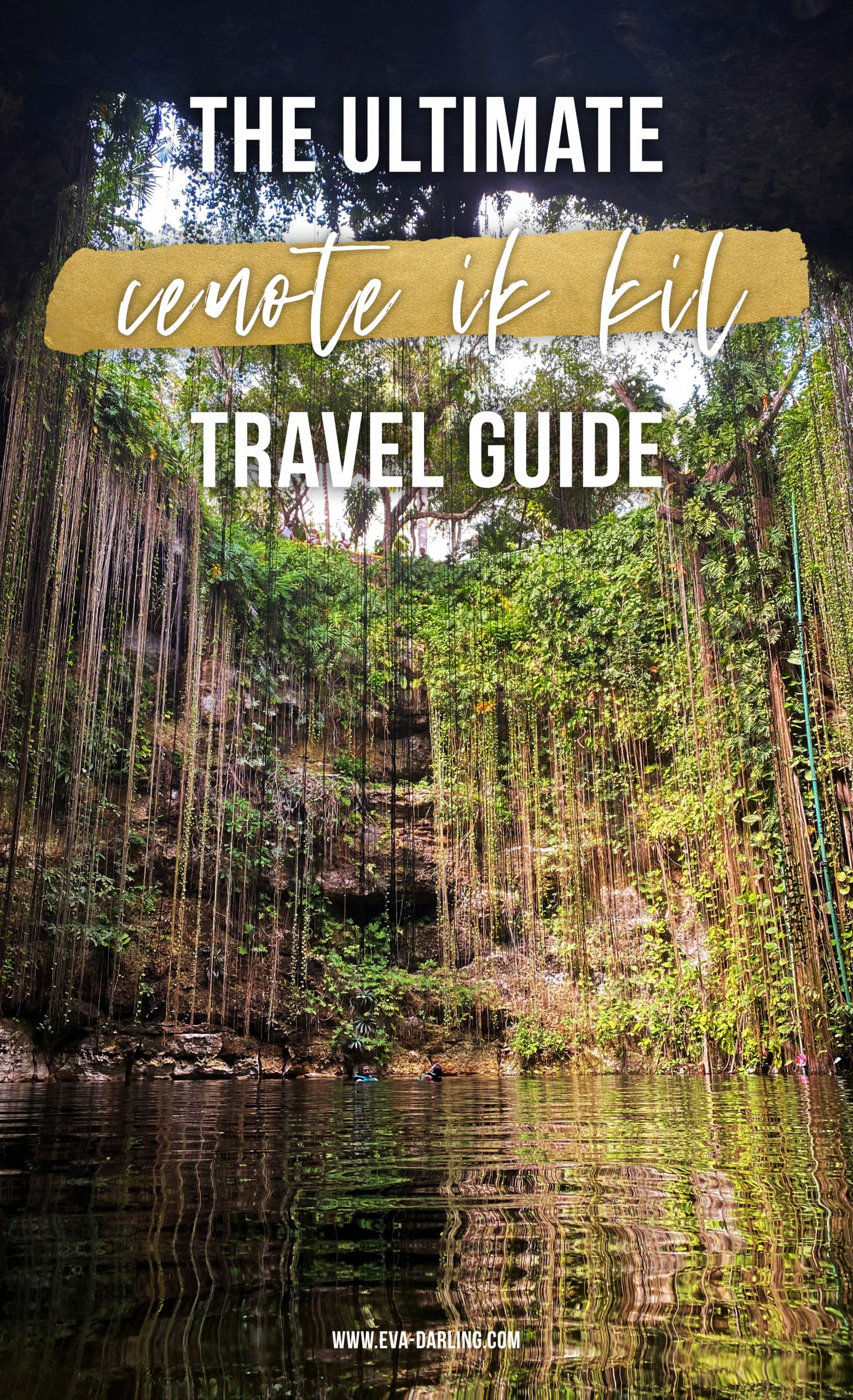 how to visit cenote ik kil chichen itza swimming sinkhole yucatan mexico instagrammable spots tulum photo worthy