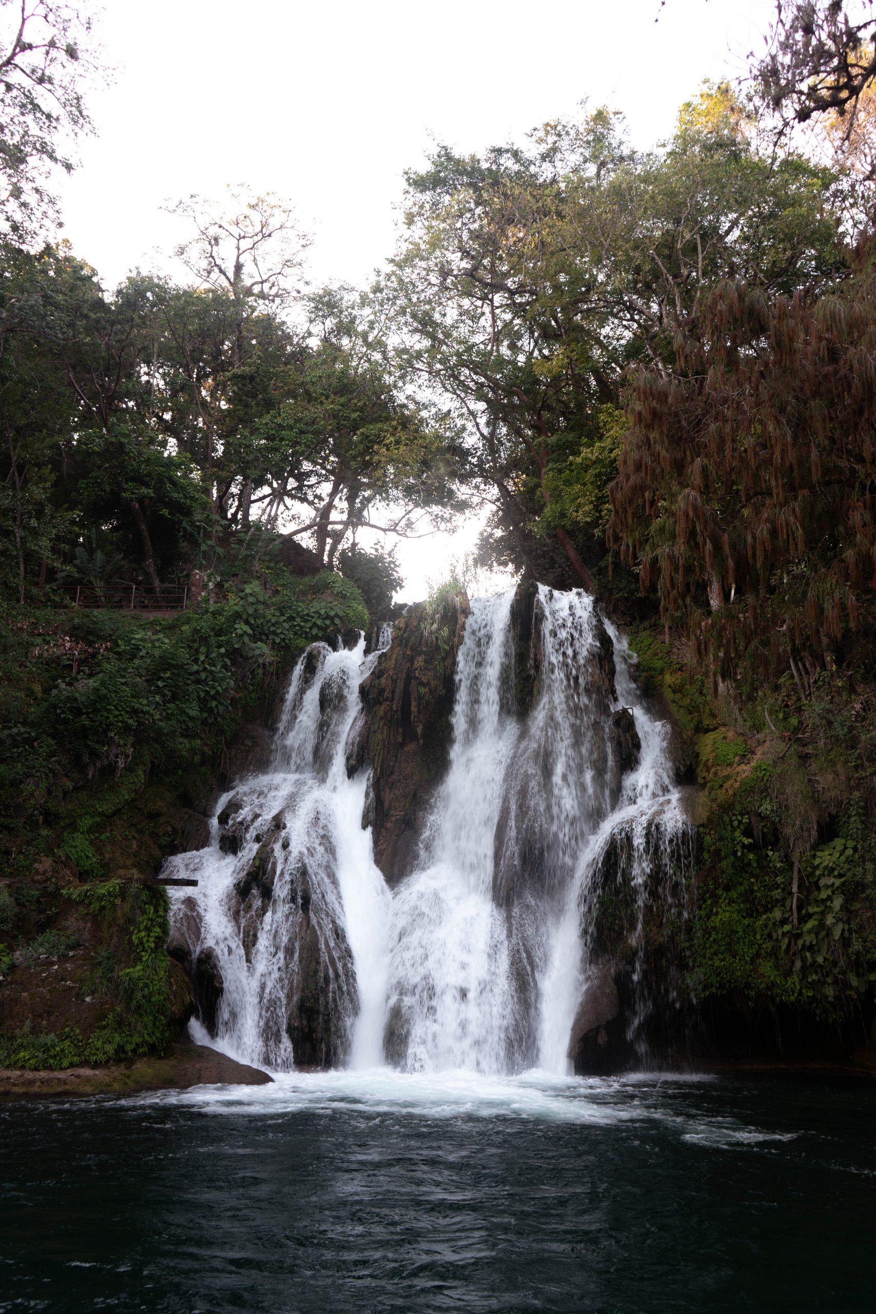 cascadas de tamasopo waterfall san luis potosi huasteca potosina ciudad valles