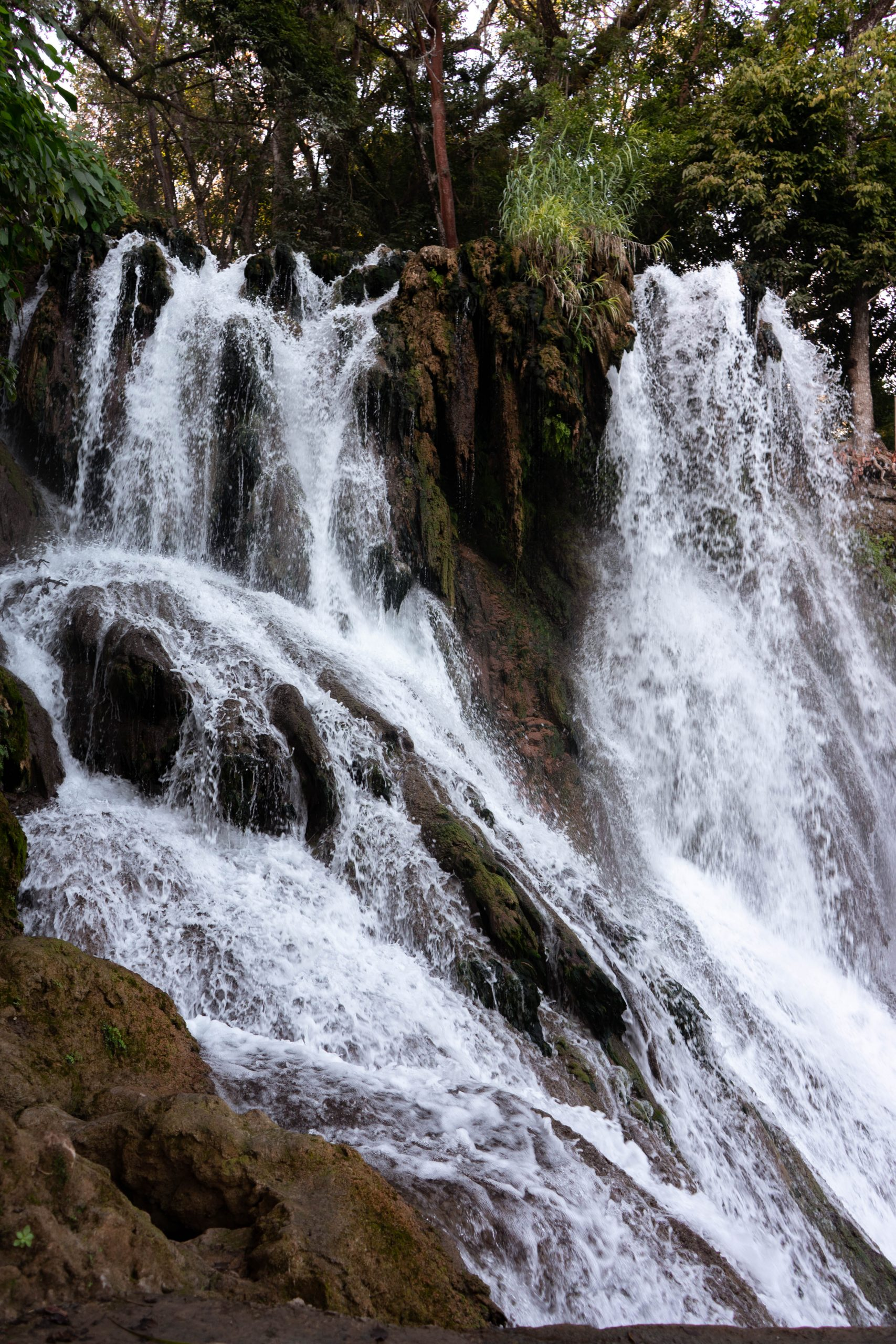 waterfall water running nature photography closeup sony a7iii