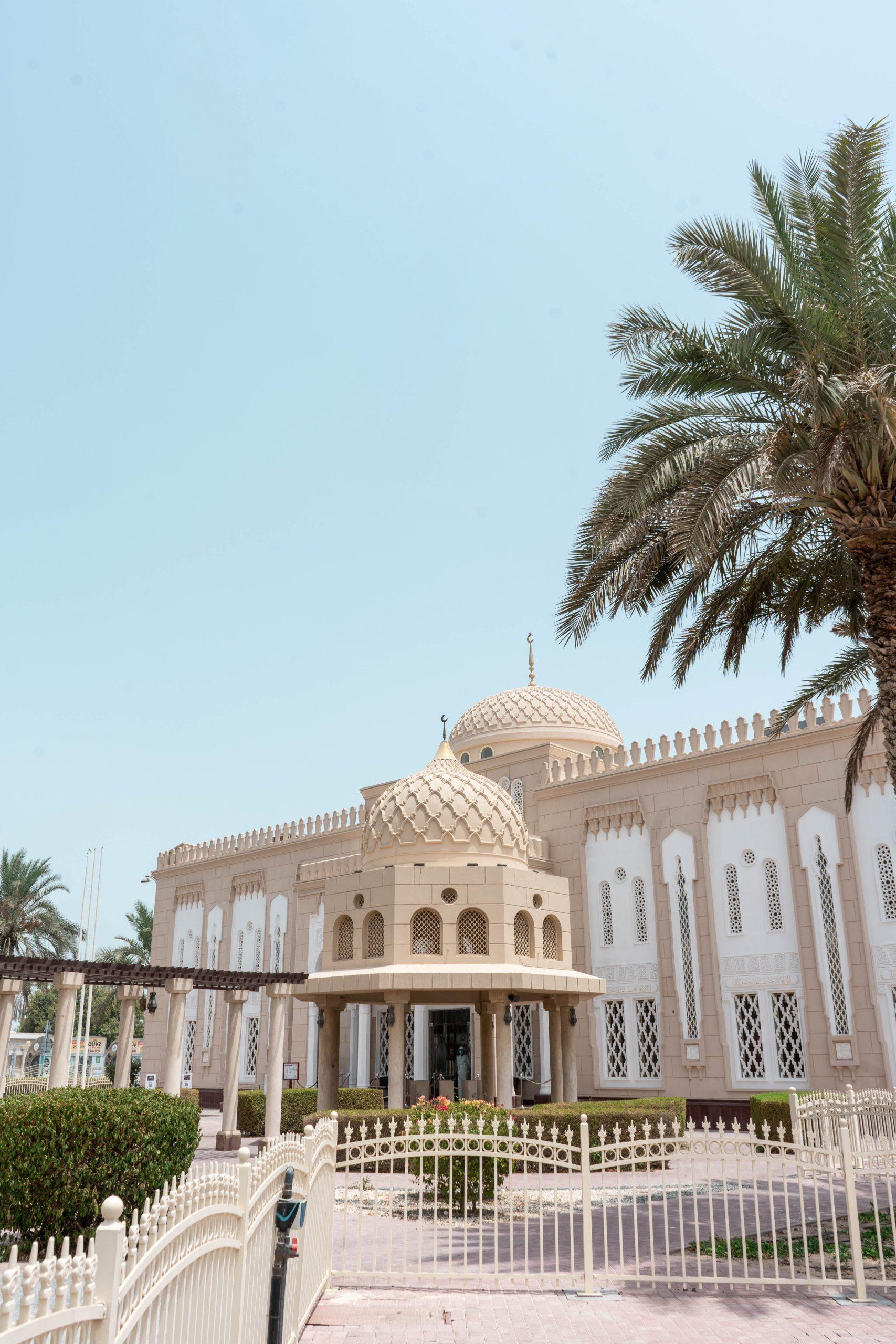 jumeirah mosque dubai uae united arab emirates masjid tourist entrance