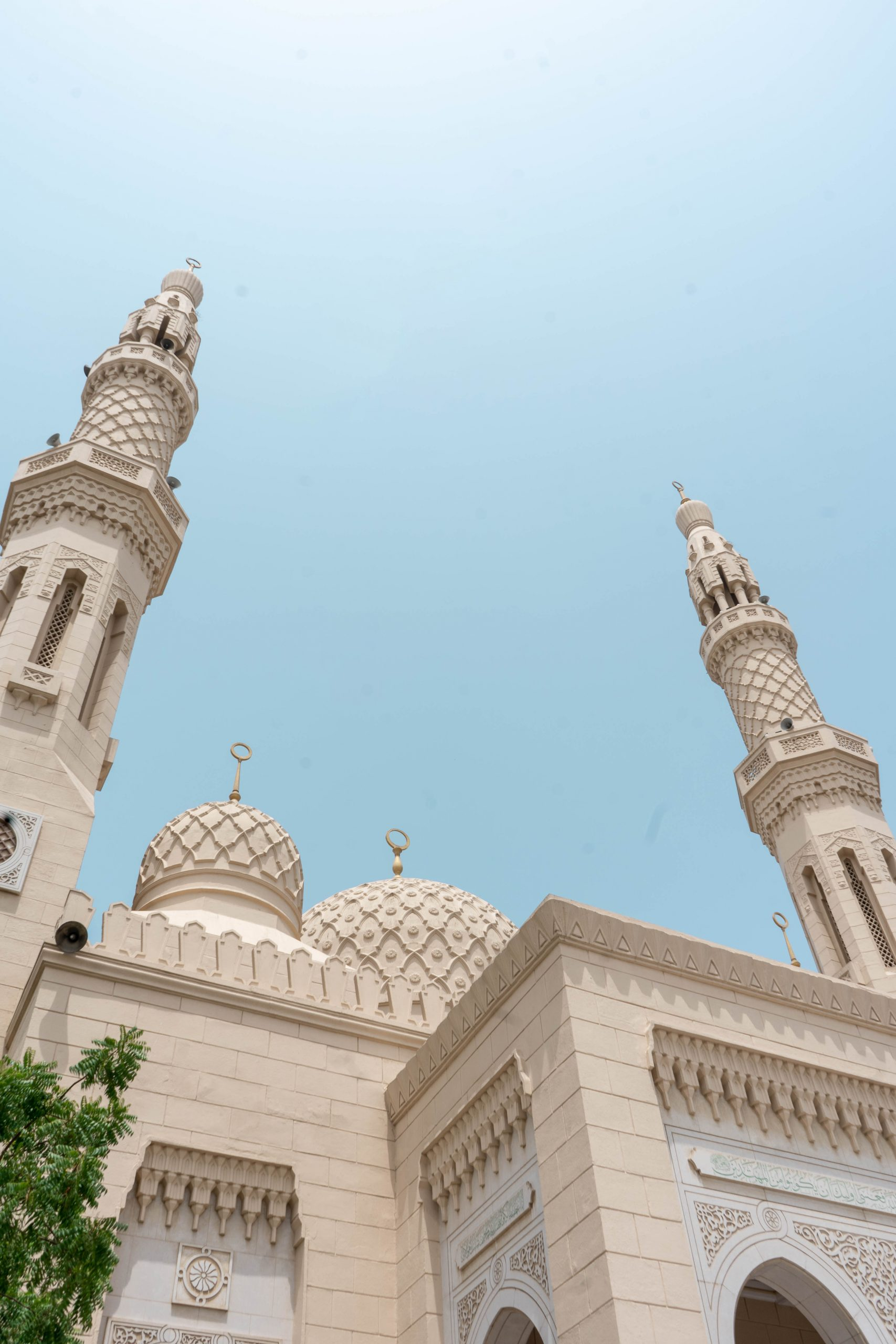 jumeirah mosque domes minaret islamic architecture fatimid