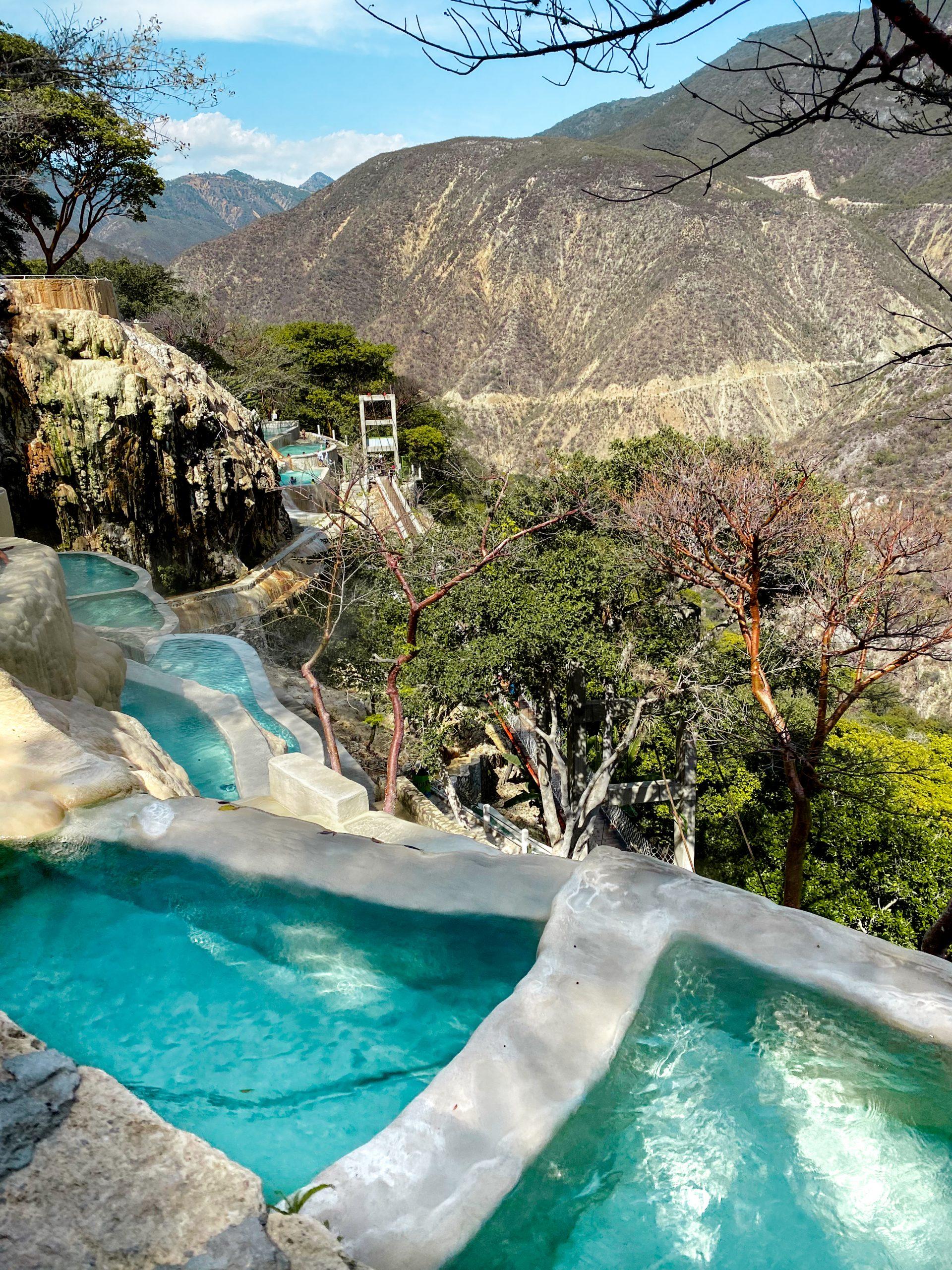 grutas tolantongo thermal pool mezquital valley canyon hidalgo mexico hot springs